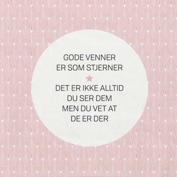 Bilde av Servietter - Gode Venner Er Som Stjerner