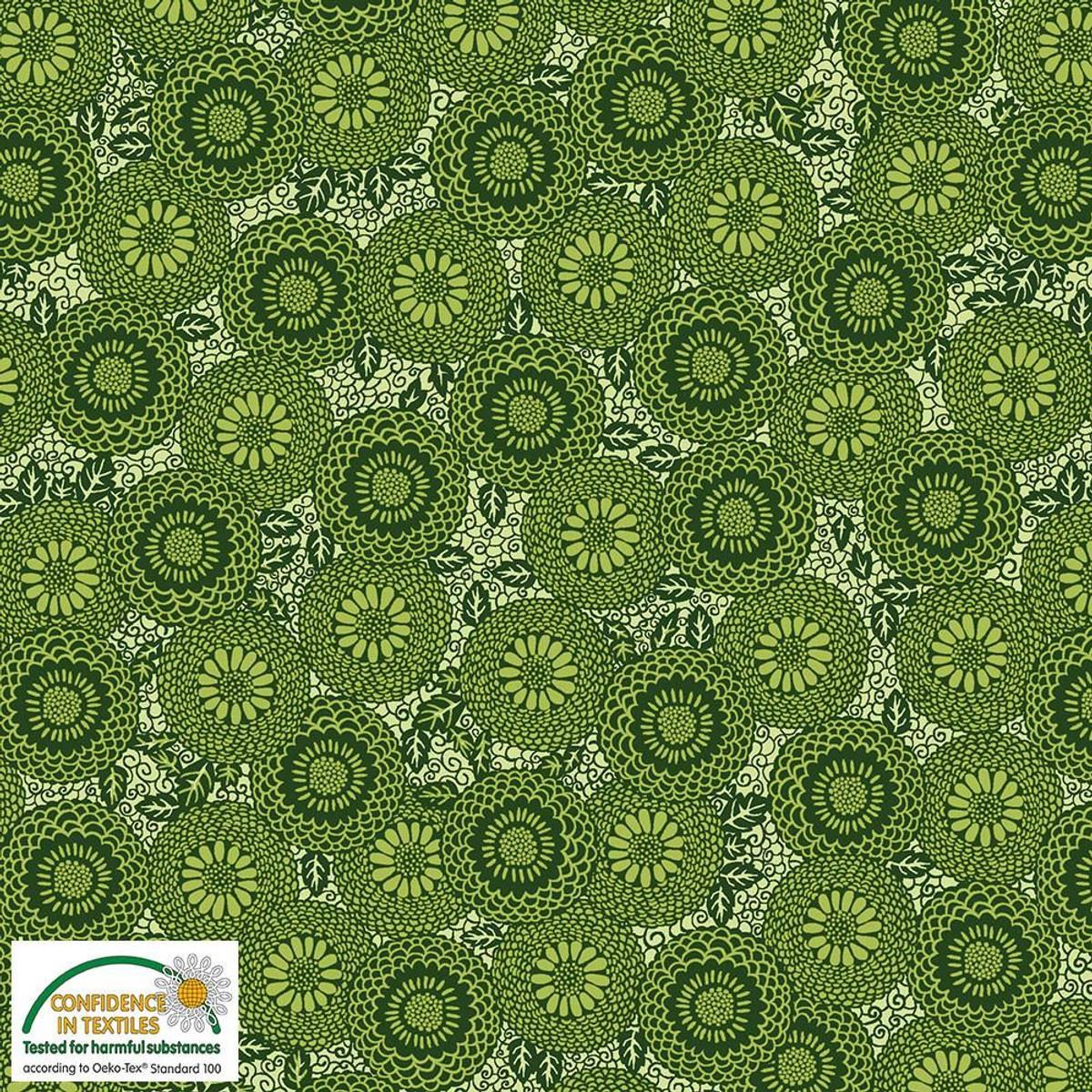 30 cm - Grønne små ringblomster - Avalana