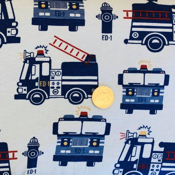 Bilde av Brannbil - Blå