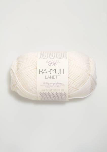 Bilde av Babyull Lanett - 1001 Hvit
