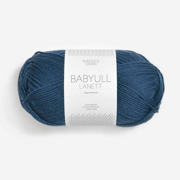 Bilde av Babyull Lanett - 6062 Mørk Blå