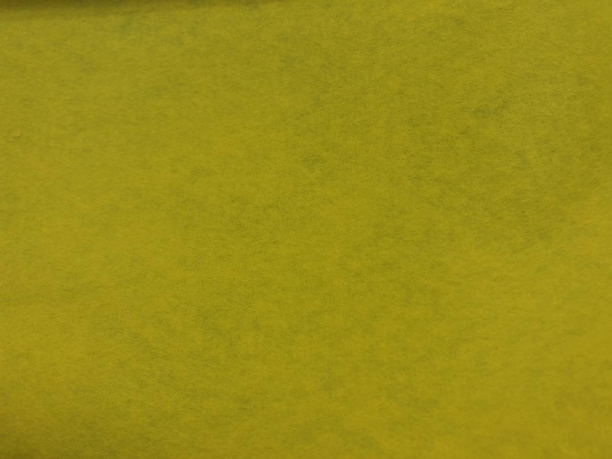 Hobbyfilt - Gul - 10 cm