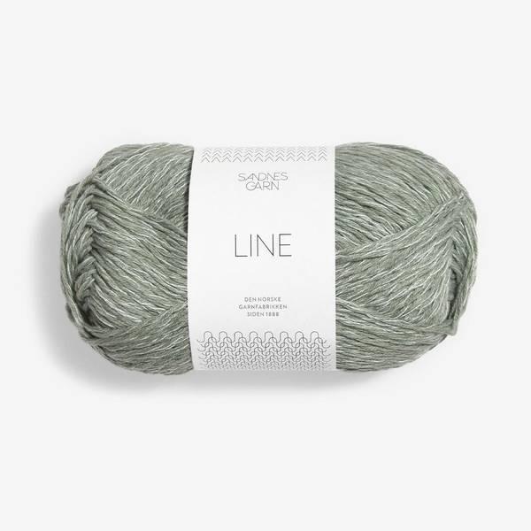 Bilde av Line - 8521 Støvet Lys Grønn