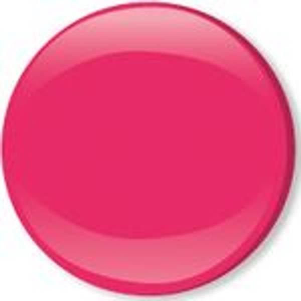 Bilde av Metall trykknapper med kappe, 10 mm - Pink