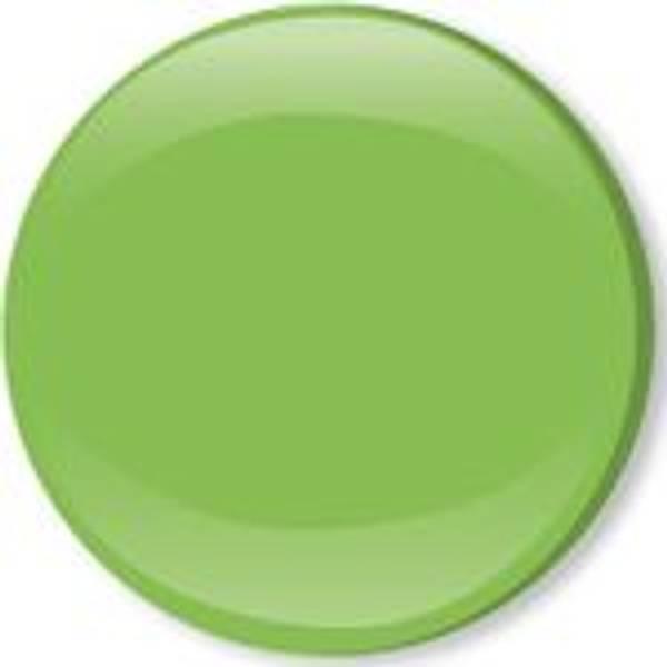 Bilde av Metall trykknapper med kappe, 10 mm -  Lime