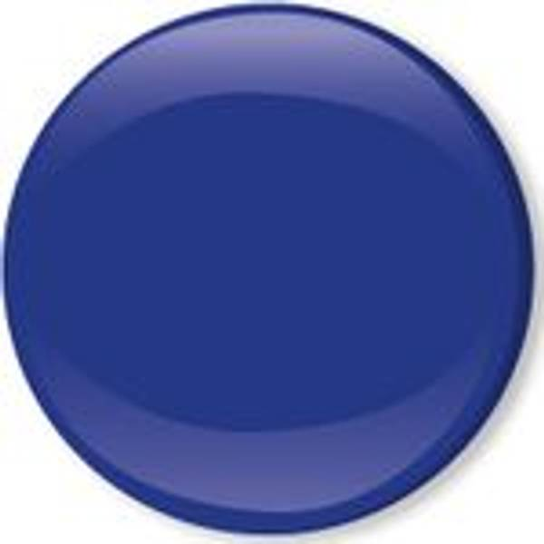 Bilde av Metall trykknapper med kappe, 10 mm - Kongeblå