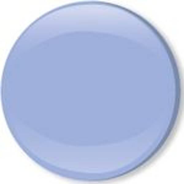 Bilde av Metall trykknapper med kappe, 10 mm - Lyseblå