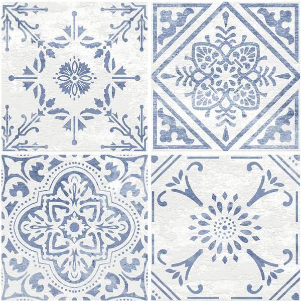 Bilde av Vareprøve: Vintage selvklebende gulvfliser
