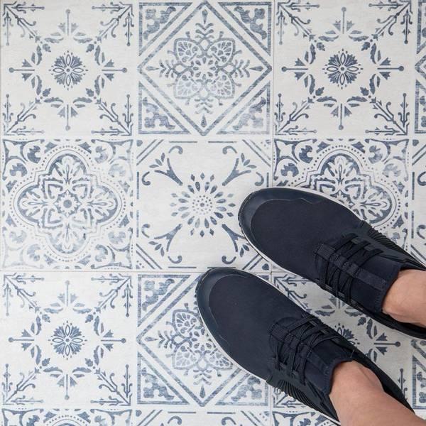 Bilde av Vintage selvklebende gulvfliser