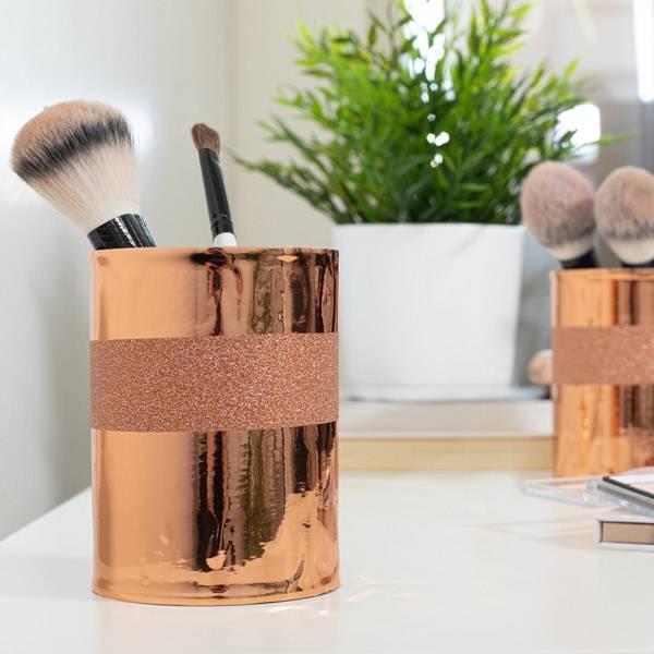 Bilde av Vareprøve: Glitter kobber kontaktplast