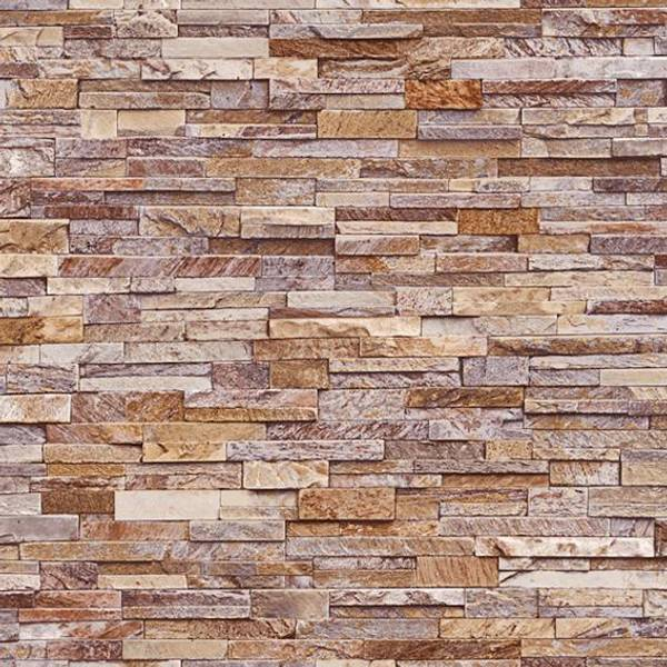 Bilde av Vareprøve: Stone wall sand våtromstapet