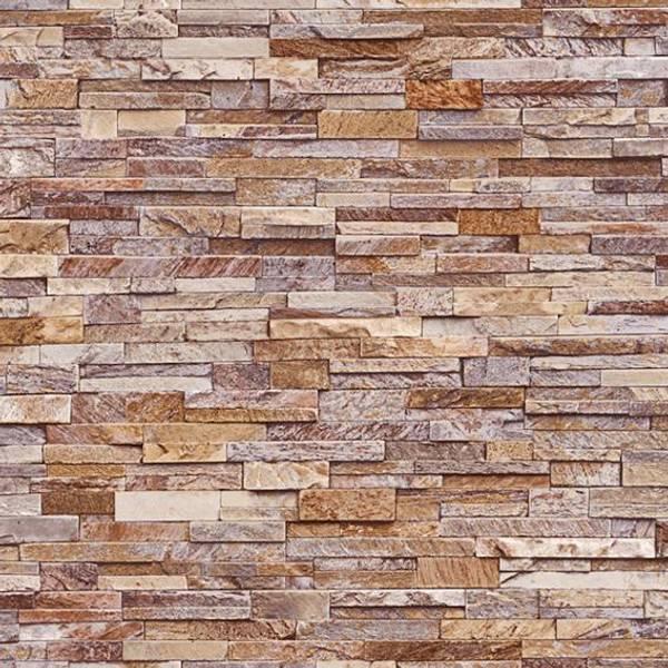 Bilde av Stone wall sand tapet