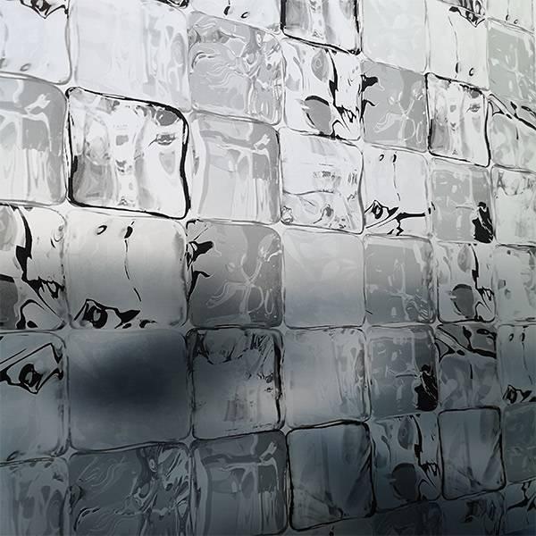 Bilde av Static Ice Cube grå vindusfolie
