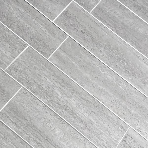 Bilde av Vareprøve: Stein Subway Mikrosement selvklebende veggfliser