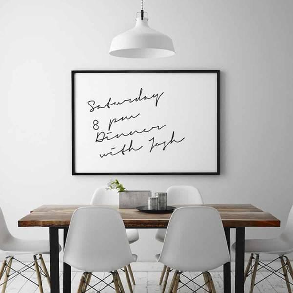 Bilde av Whiteboardfolie 90 cm x 2 meter