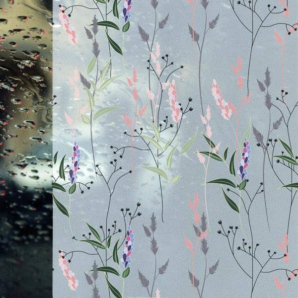 Bilde av Static Wild flowers vindusfolie