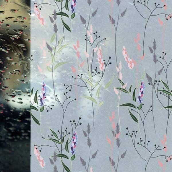 Bilde av Vareprøve: Static Wild Flowers vindusfolie