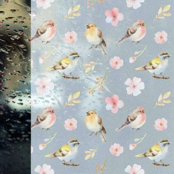 Bilde av Vareprøve: Static Spring birds vindusfolie