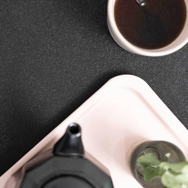 Bilde av Glitter sort kontaktplast