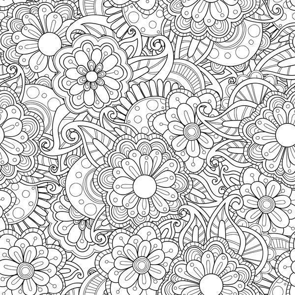 Bilde av Flowers whiteboardfolie