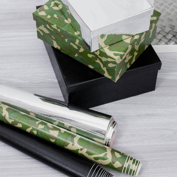 Bilde av Kamuflasje grønn kontaktplast