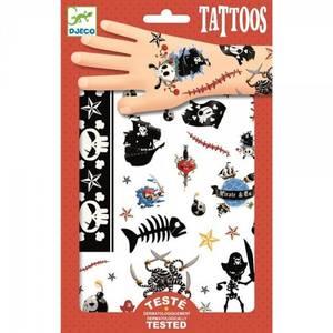 Bilde av Djeco Tattoos, pirat