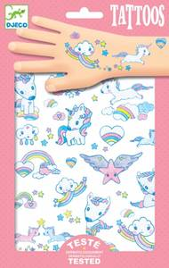 Bilde av Djeco Tattoos unicorn