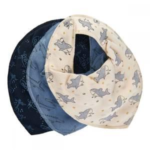 Bilde av Pippi 3 pakning smekker blå