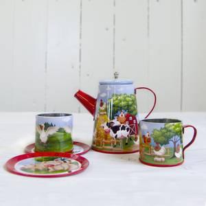 Bilde av Coffee set '' Farm animals '' 6 parts.
