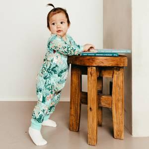 Bilde av Mummi Leafy pyjamas green
