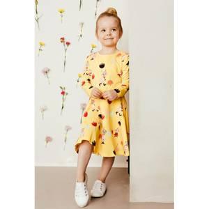 Bilde av Mummi Tulips dress, yellow
