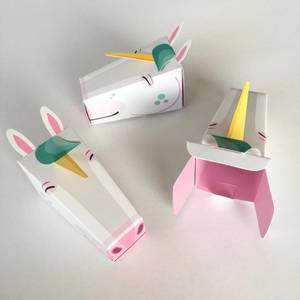 Bilde av 3 pakning enhjørning, unicorn