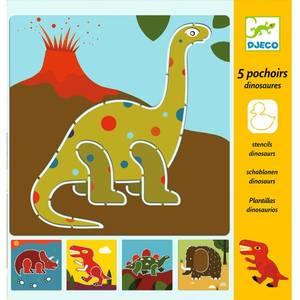 Bilde av Djeco sjablonger dinosaur