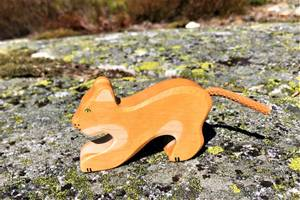 Bilde av Holztiger Lion, small, playing