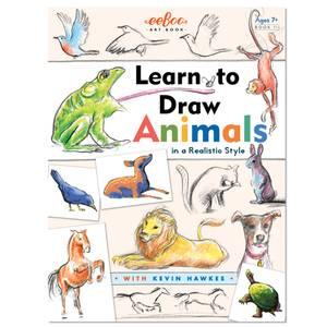 Bilde av eeBoo - Lær å tegne - Dyr