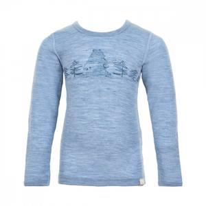 Bilde av Ulltrøye, dusty blue melange, Celavi