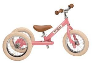 Bilde av Trybike steel 3 hjul rosa, vintage