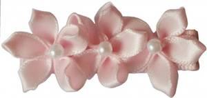 Bilde av Klemme tre blomster, powder, lys rosa