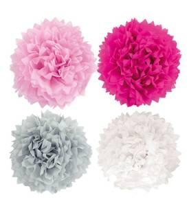 Bilde av Pompoms rosa