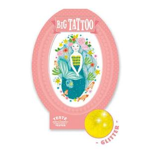 Bilde av Big tattoo, aqua blue