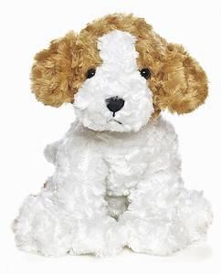 Bilde av Teddykompaniet vovve hund 40cm, hvit og brun