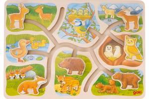 Bilde av Goki Sliding puzzle, who belongs to who?