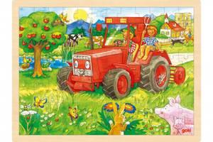 Bilde av Goki puzzle tractor