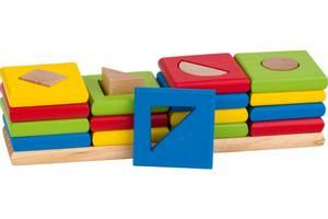 Bilde av Goki The 4 towers, shapes and colours sorting