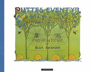 Bilde av Puttes eventyr  i blåbærskogen, Elsa Beskow