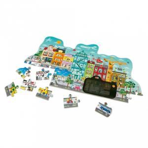 Bilde av Hape Animated city puzzle