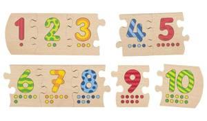Bilde av Goki tall pusle fra 1 til 10
