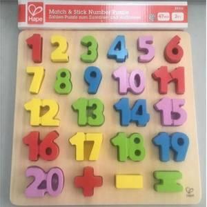 Bilde av Hape Match&stick number puzzle