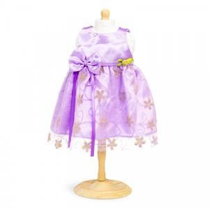 Bilde av Dukkeklær, kjole lilla str 42-46 cm
