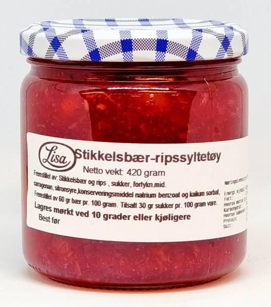 Stikkelsbær & Rips Syltetøy